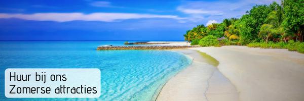 Tropische Attracties voor ieder zomer evenement | JB Productions