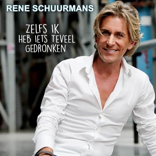 Zelfs ik heb iets teveel gedronken is de titel van de nieuwe single van Rene Schuurmans | JB Productions