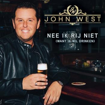 """John West komt met nieuwe single """"Nee ik rij niet"""""""