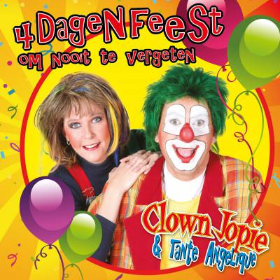 Kindercarnaval hit Clown Jopie en Tante Angelique voor Carnaval 2016