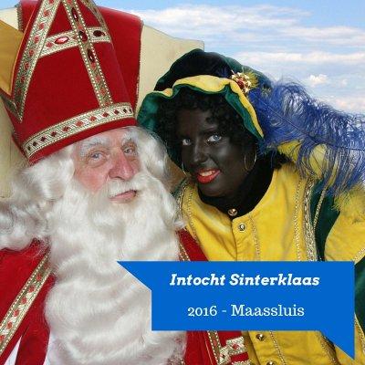Landelijke Sinterklaasintocht 2016 in Maassluis