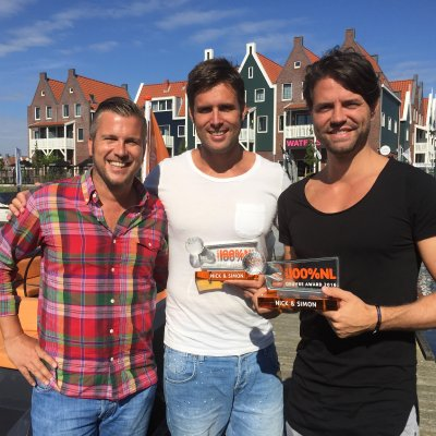Nick & Simon krijgen 100% NL Oeuvre Award