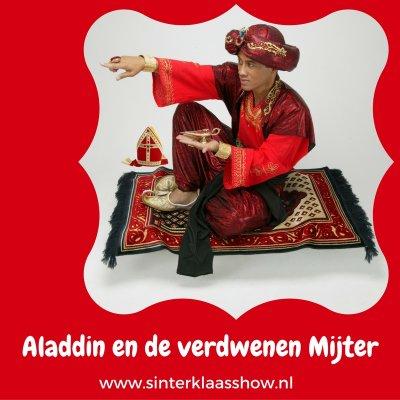 Sinterklaasshow Aladdin - een show met een Oosters tintje.