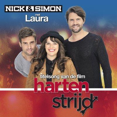 Hartenstrijd - Nieuwe single Nick & Simon met Laura!