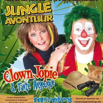 Clown Jopie & Tante Angelique Jungle Avontuur