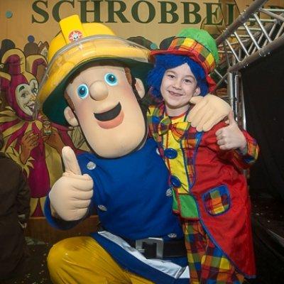 Kindercarnaval 2017 met een bekende Kinderheld