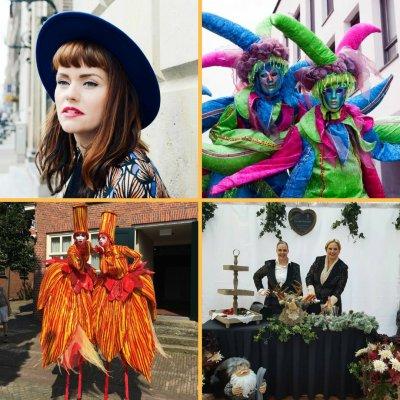 Nieuwjaarsrecepties, Winkelcentrumpromotie en Bekende Artiesten
