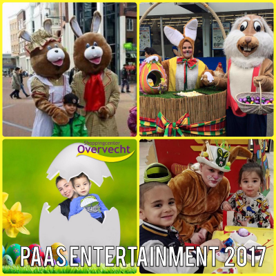 PAAS ENTERTAINMENT 2017 | PAAS ACTS VOOR WINKELCENTRA