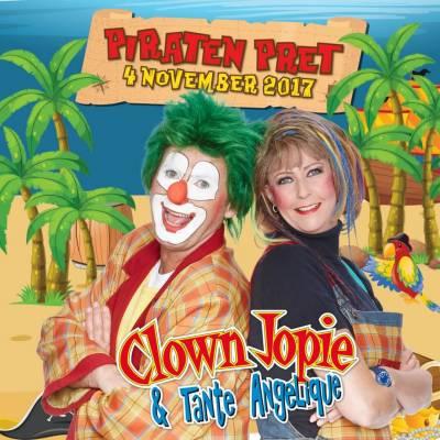 """Clown Jopie & Tante Angelique """"Piraten Pret"""""""