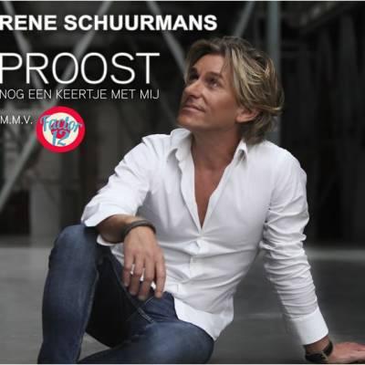 Nieuwe Single Rene Schuurmans - Proost Nog Een Keertje Met Mij
