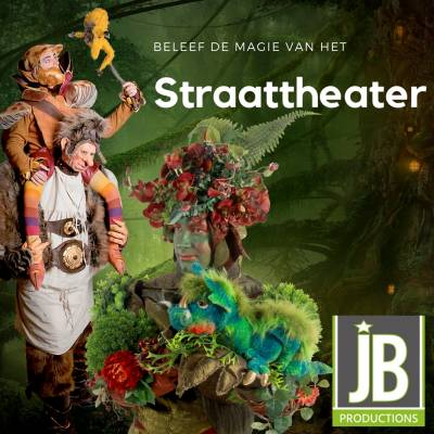 Gloednieuwe Folder - Straattheater JB Productions