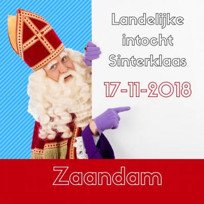 Landelijke intocht Sinterklaas 2018 - Zaandam