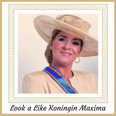 Look a Like Koningin Maxima exclusief bij JB Productions