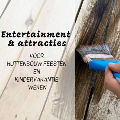 Huttenbouwfeesten en Kindervakantieweken tijdens de Zomervakantie in Nederland