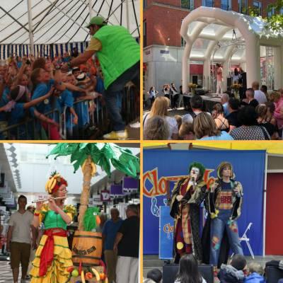 Maand Juli - Tropisch, Vol entertainment en Gezelligheid
