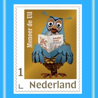 De Fabeltjeskrant dit jaar op postzegels in Nederland