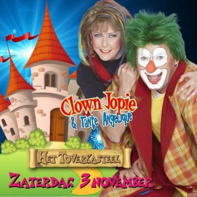 Voorverkoop gestart Het Toverkasteel met Clown Jopie & Tante Angelique