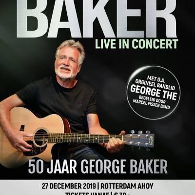 George Baker viert jubileum in Ahoy
