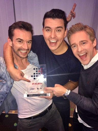 Nieuwe Klubbb3 album van niets op 1 in Duitse albumcharts! | JB Productions