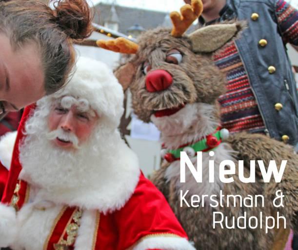 Nieuwe Act voor de Kerst - De Kerstman met Rudolph | SintenKerst