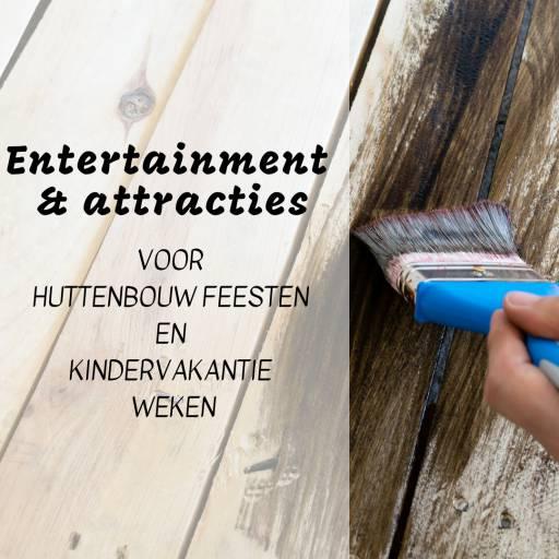 Entertainment huren of boeken voor jouw Huttenbouwfeest of Kindervakantieweek? | JB Productions