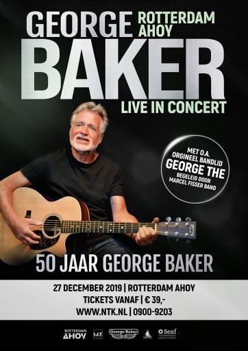 George Baker viert jubileum in Ahoy   JB Productions