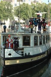 Totaal nieuwe Sinterklaasshow Snuffie & Rimpel feesten met Sinterklaas voor 2012