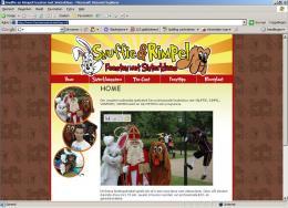 Nieuwe website van Snuffie en Rimpel feesten met Sinterklaas