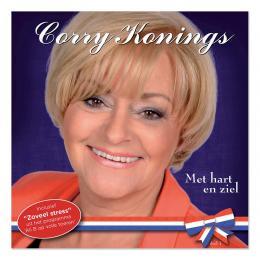 Nieuwste album Corry Konings 'Met Hart en Ziel'  op 2de plaats in de hitlijsten