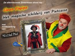 Clown Flapipo met Pietcasso - Sint tip van de dag
