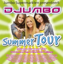 JB Productions & Jumbo Supermarkten ontwikkelen : Djumbo Summer Tour