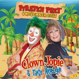 "Clown Jopie & Tante Angelique ""Piraten Pret"" - Jeugdshows.nl"