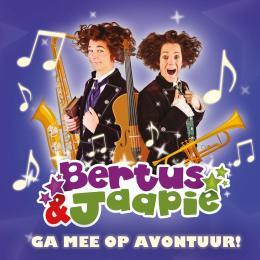 Nieuwe CD voor Bertus & Jaapie - Ga mee op avontuur - Jeugdshows.nl