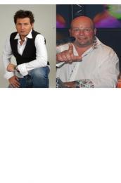 Jeroen en FeestDJ Rene samen in Glazenhuis