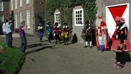Stormbezoek Sinterklaas en pieten aan Nederland