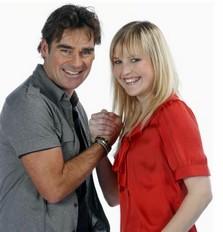 Leonie Meijer in duet met Jeroen van der Boom