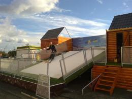 Nieuw ! Mobiele Skibaan - Winterentertainment