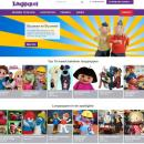 Nieuwe look voor de website Looppop.NL - clownshow.nl