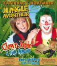 Voorverkoop gestart Jungle Avontuur met Clown Jopie & Tante Angelique - clownshow.nl