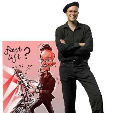 Karikaturist Hugo Freutel boeken of inhuren | JB Productions