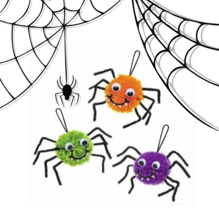 Kleurplaten Halloween Spinnen.Kids Workshop Halloween Spinnen Maken Inhuren Of Boeken