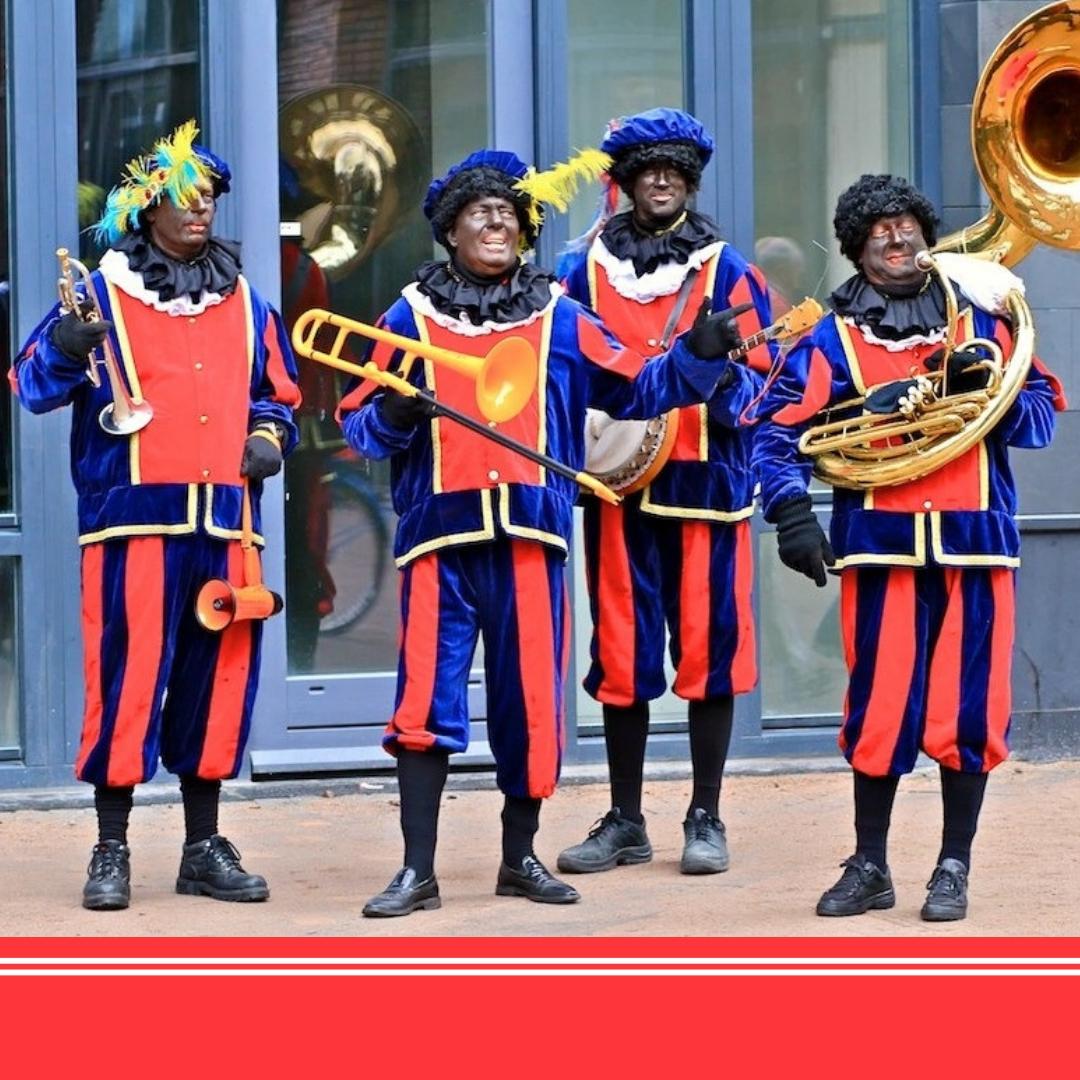 Dansende Zwarte Piet Kleurplaten.T Looporkest Zwarte Pieten Boeken Of Huren Sintenkerst