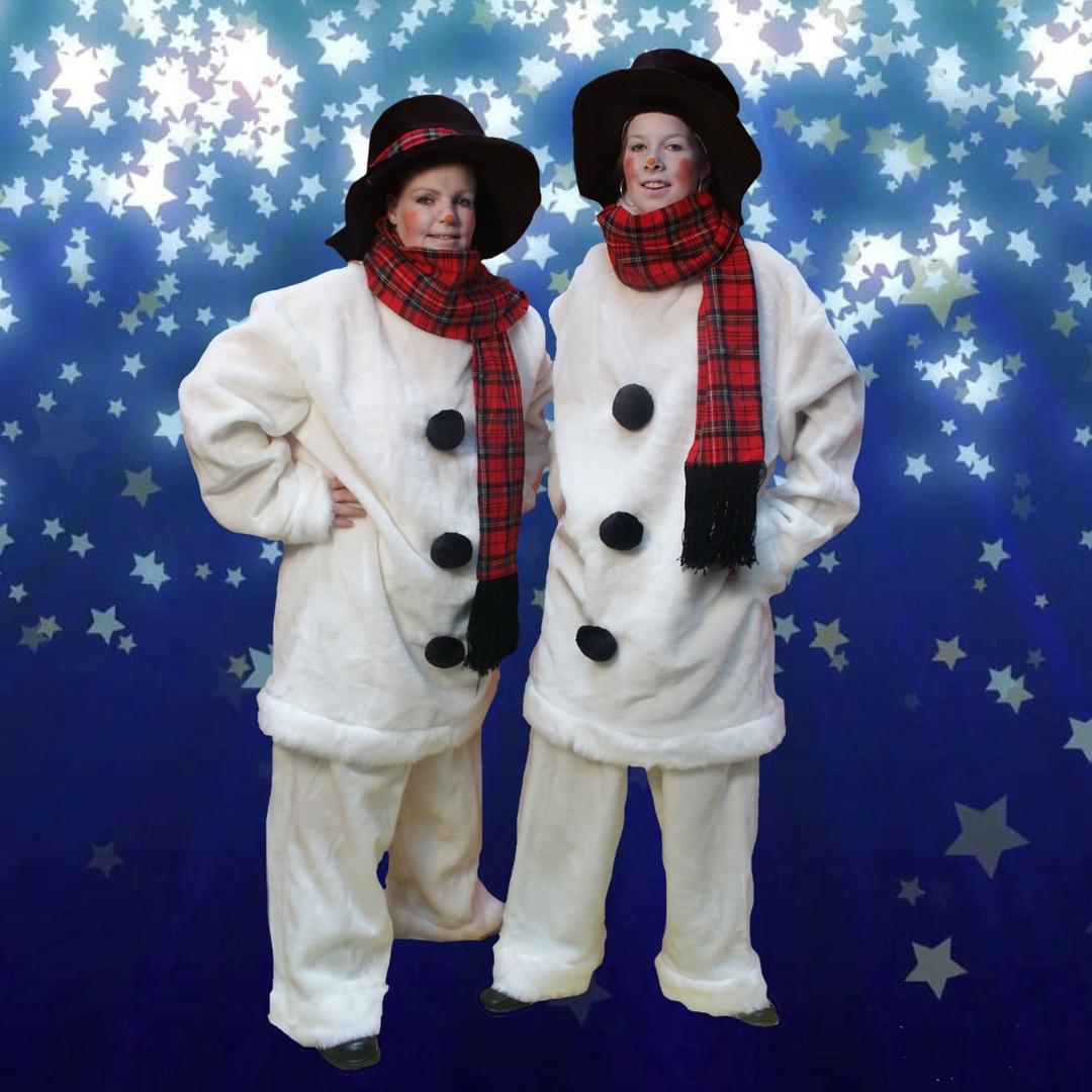 Sneeuwman kostuum huren   Sint en Kerst