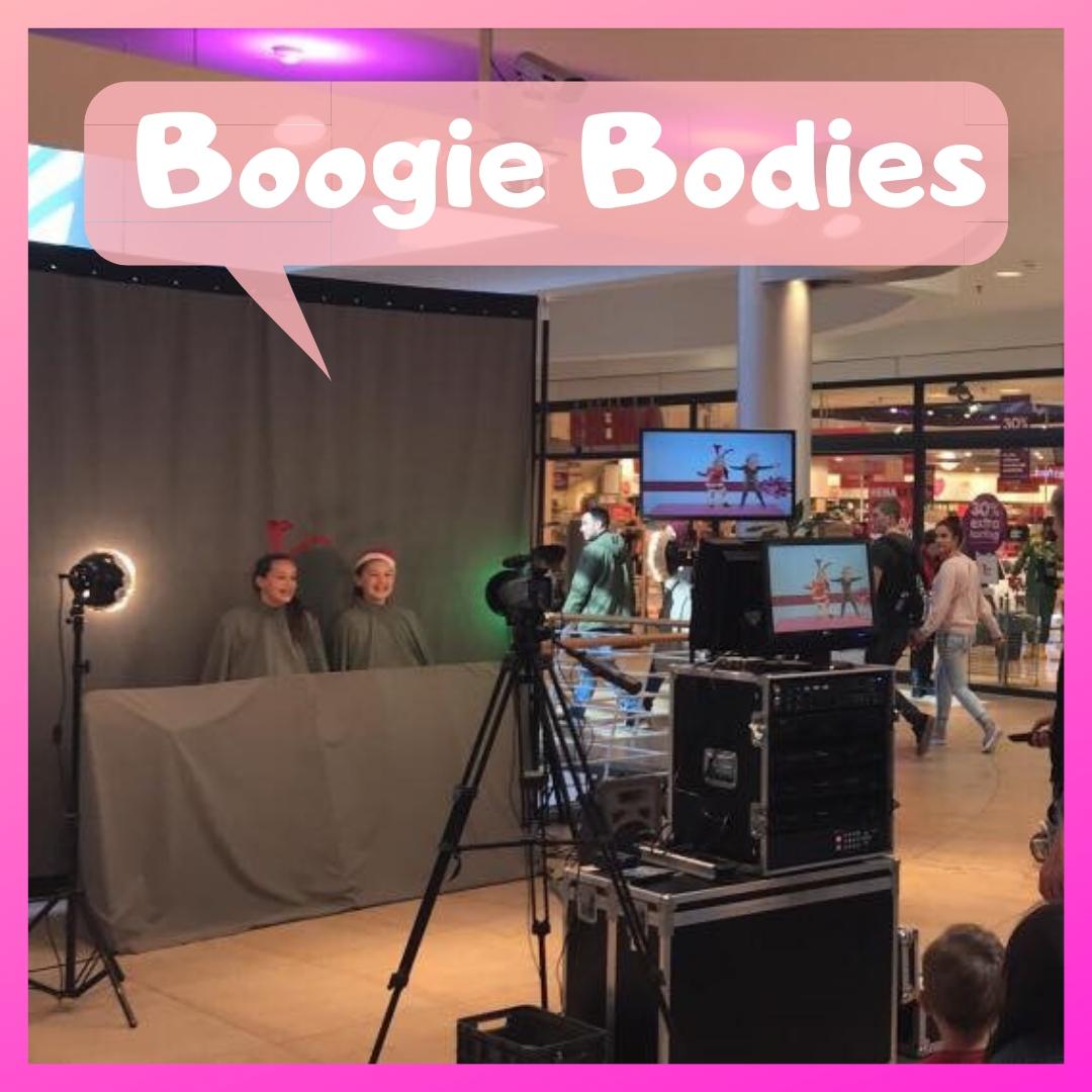 Boogie Bodies de interactieve videosensatie boeken of inhuren | JB Productions