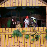 Poppenkastvoorstelling Sinterklaas op vakantie - Sinterklaasshow