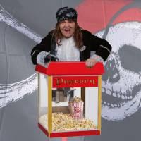 Piraten popcornstand