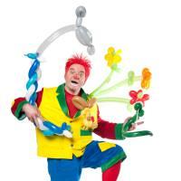 Clown Flapipo Mobiel inhuren of boeken?