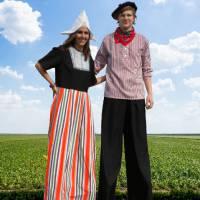 2 Steltlopers - Boer & Boerin