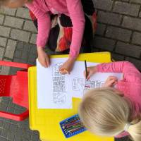 Kids Workshop Moederdag Deurhanger maken