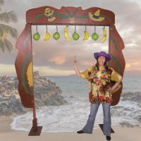 Cocosnoot vangen